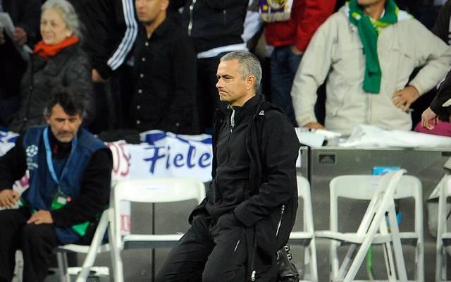 Jose Mourinho traf das Aus von Real gegen die Bayern sehr hart