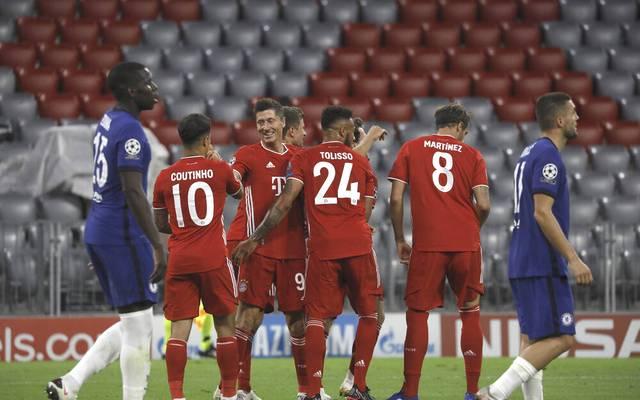 Der FC Bayern schlug in der Champions League den FC Chelsea im Achtelfinale