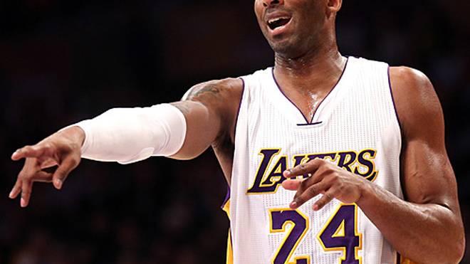 Kobe Bryant ist fünfmaliger NBA-Meister