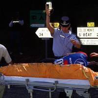 Der schlimmste Unfall der Tour-Historie