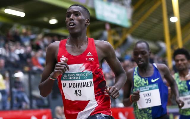 Mohamed Mohumed läuft für die LG Olympia Dortmund