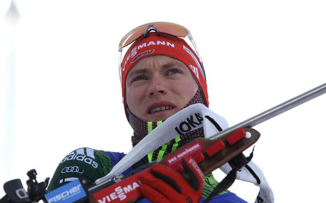 OSTERSUND, SWEDEN - MARCH 09:  Benedikt Doll of Germany during the Zeroing for the IBU Biathlon World Championships Men 10km Sprint at Swedish National Biathlon Arena on March 09, 2019 in Ostersund, Sweden.   (Photo by Alexander Hassenstein/Bongarts/Getty Images)