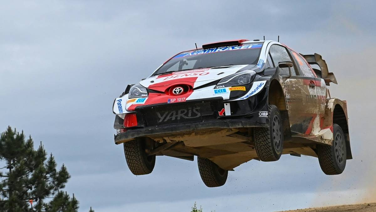 Kalle Rovanperä führt nach dem ersten Tag der Estland-Rallye