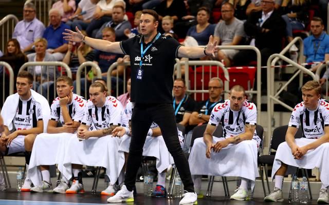 THW-Kiel-Coach Filip Jicha hadert mit dem langsameren Spiel in der HBL