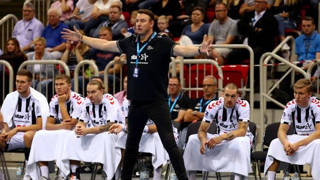 Kiel-Coach Filip Jicha hadert mit der ersten Saisonpleite