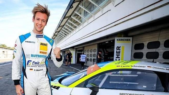 Dennis Marschall steht in Hockenheim auf der Pole Position