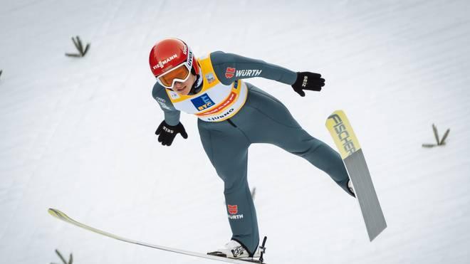 Katharina Althaus greift im Einzel nach der nächsten Medaille