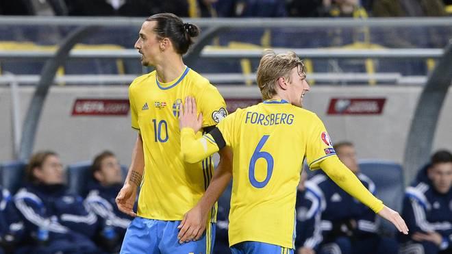 Wäre Emil Forsberg (r.) der würdigere Erbe von Zlatan Ibrahimovic gewesen?