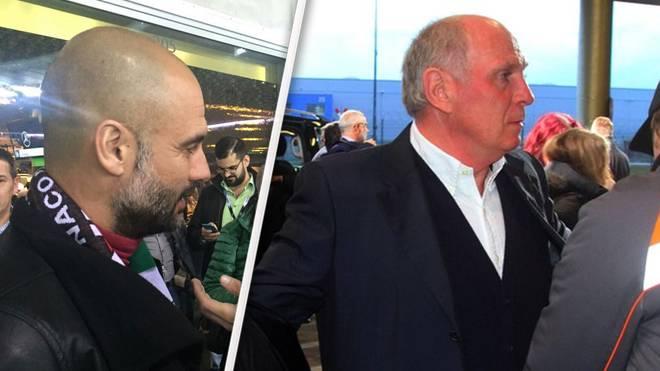 Deutschland Italien Uli Hoeneß Pep Guardiola Mario Götze