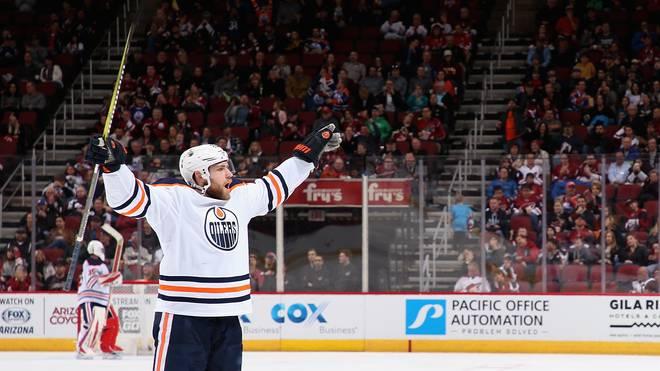 Leon Draisaitl traf für die Oilers gegen die Buffalo Sabres