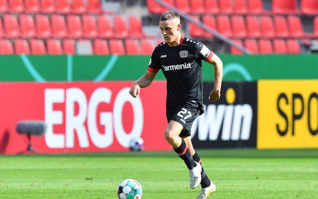 Florian Wirtz soll bei Bayer Leverkusen mithelfen, die Havertz-Lücke zu schließen