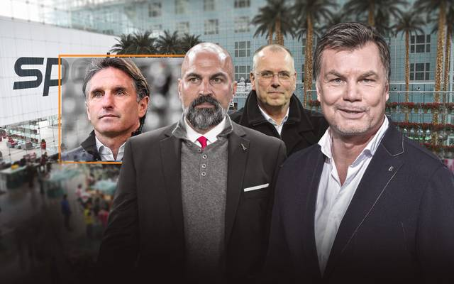 Bruno Labbadia, Thomas Röttgermann und Markus Babbel sind zu Gast im CHECK24 Doppelpass