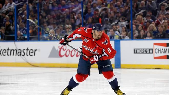 Alexander Owetschkin geht nun zu den zehn besten Torjägern der NHL