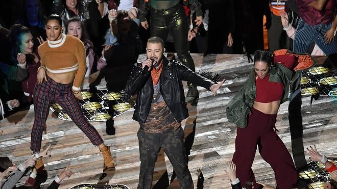 Justin Timberlake begeistert 2018 auch mit seinen Tanzeinlagen