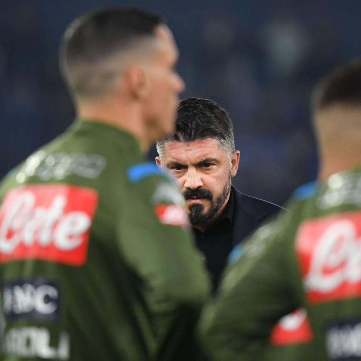 "Gattuso: Napoli-Mannschaft ""krank"""