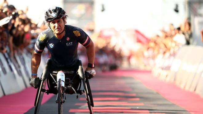 Alessandro Zanardi verletzte sich bei einem Handbike-Unfall schwer