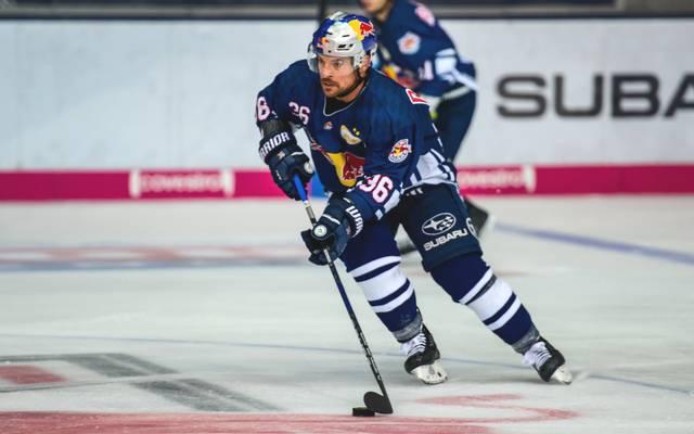 Yannic Seidenberg peilt mit dem EHC Red Bull München die Tabellenführung an