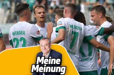 Frank Baumann hat Werder Bremen aus einer schwierigen Situation auf Kurs gebracht. SPORT1-Kommentator Markus Höhner hätte das nicht für möglich gehalten.