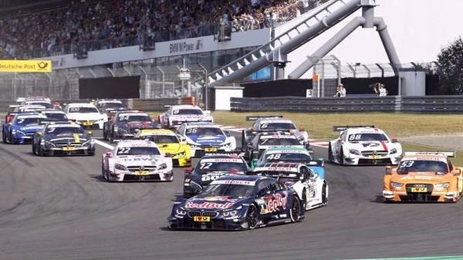 Die DTM gastiert am kommenden Wochenende auf dem Nürburgring