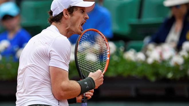 Andy Murray eilte in weniger als zwei Stunden ins Achtelfinale von Paris