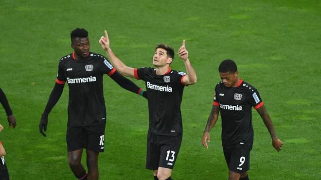 Bayer 04 Leverkusen siegt gegen den FC Augsburg