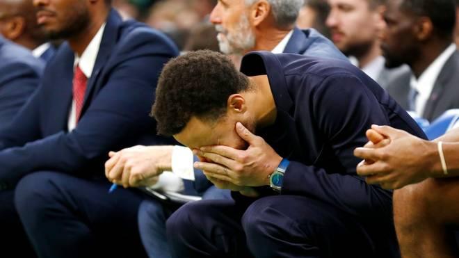 Stephen Curry verpasste den Großteil der Saison verletzt