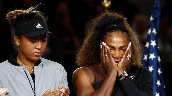 Im Finale der US Open 2018 zog Serena Williams (r.) den Kürzeren