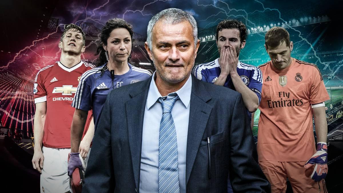 Die Liste von Jose Mourinhos Opfern ist lang