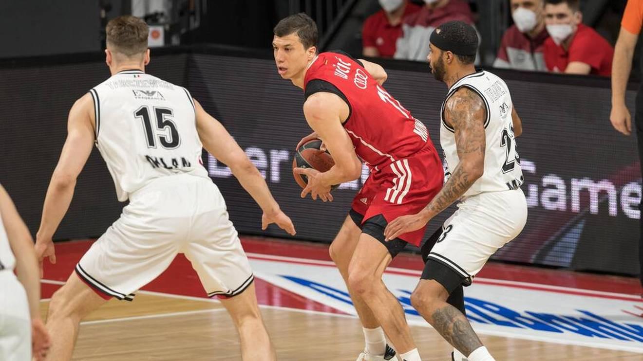 Die Bayern kämpften mit Vladimir Lucic um den Einzug ins Final Four