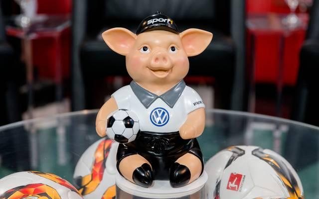 Das Phrasenschwein sorgt seit Jahren für viel Spaß im Volkswagen Doppelpass