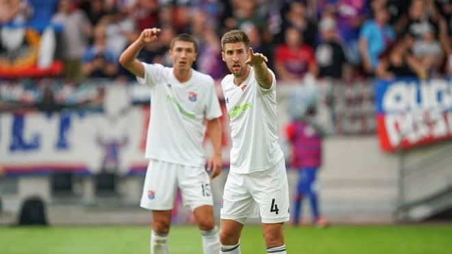 Die SpVgg Unterhaching trifft auf den FC Hansa Rostock