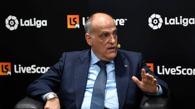 Will nach kuriosem Rücktritt zügig wieder ins Amt: Javier Tebas