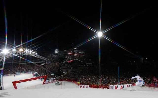 Die Atmosphäre beim Nightrace in Schladming mit 50.000 Fans ist einzigartig im Weltcup