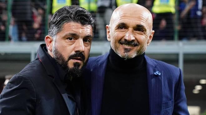 Gennaro Gattuso und Luciano Spalletti