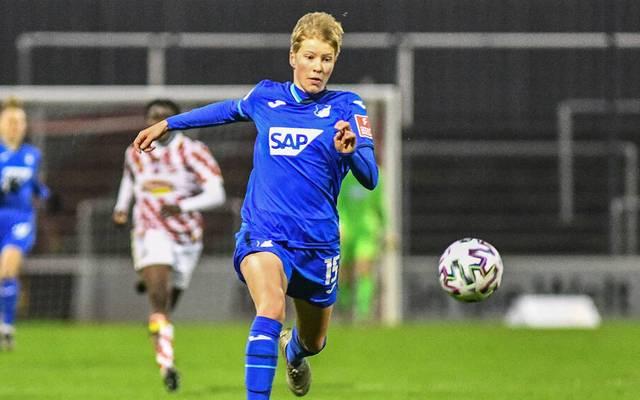 Paulina Krumbiegel bleibt der TSG Hoffenheim treu