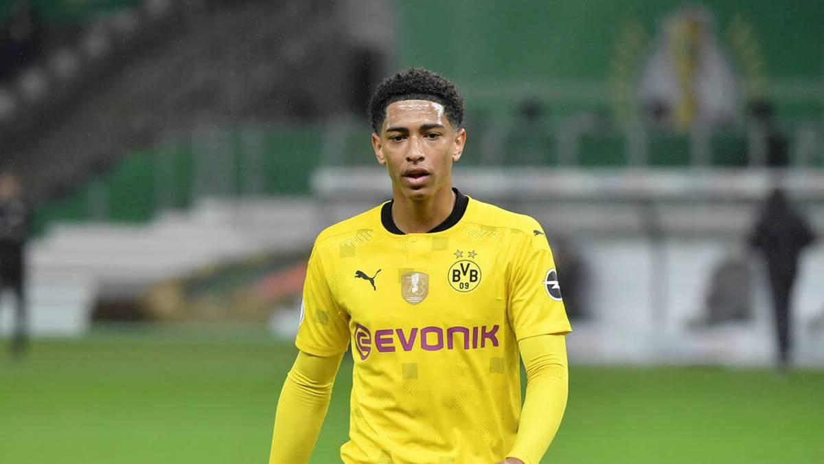 Jude Bellingham gewann in der abgelaufenen Saison mit dem BVB den DFB-Pokal