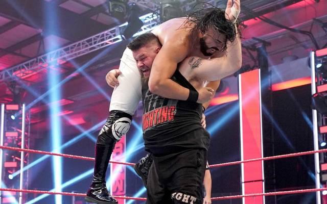 Kevin Owens setzte bei WWE Monday Night RAW aus