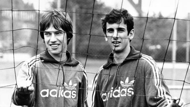 Erhan Önal (r., mit Wilhelm Reisinger) war zwischen 1973 und 1978 beim FC Bayern