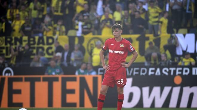 Kai Havertz wurde am Ende der Hinrunde von einigen Fans ausgepfiffen