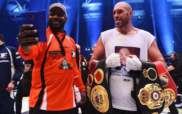 Tyson Fury (r.) - der neue Schwergewichtsweltmeister