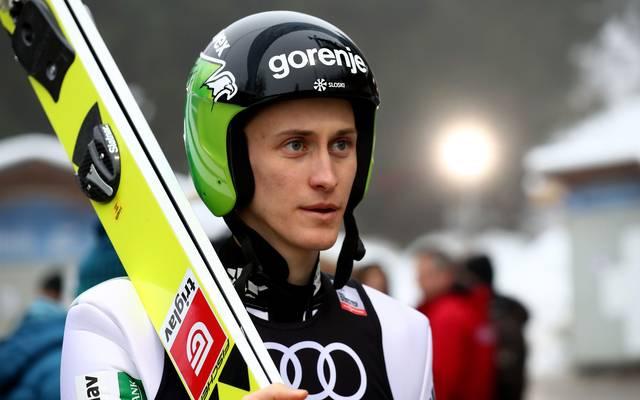 Peter Prevc scheiterte in Garmisch in der Qualifikation