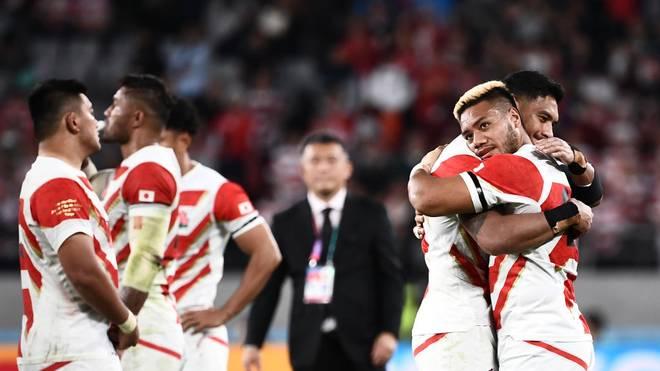 Japans Traum vom Heim-Titel bei der Rugby-WM ist im Viertelfinale geplatzt