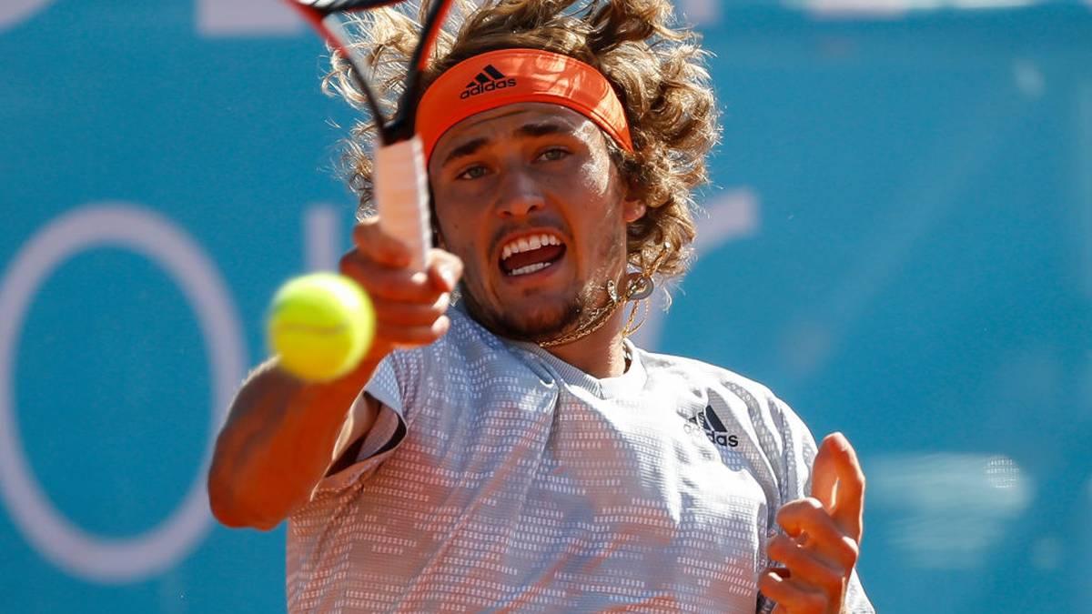 Alexander Zverev will an den US Open teilnehmen