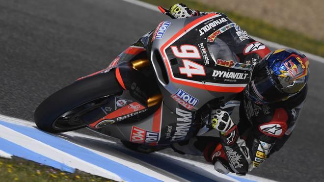Jonas Folger landet in Jerez auf Platz zwei