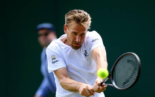 Peter Gojowczyk steht beim ATP-Turnier in Washington im Viertelfinale
