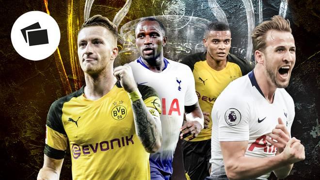Champions League, Borussia Dortmund, Tottenham Hotspur