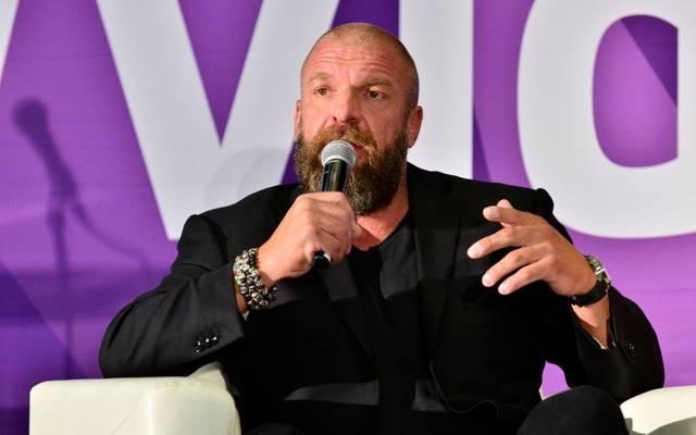 WWE-Vorstand Triple H hatte die laxe Corona-Politik kürzlich noch gerechtfertigt