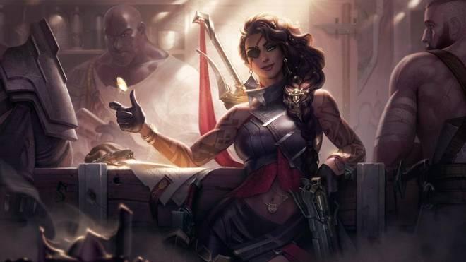 Riots neuster League-of-Legends-Champion Samira wirft gerne mal mit Kleingeld um sich