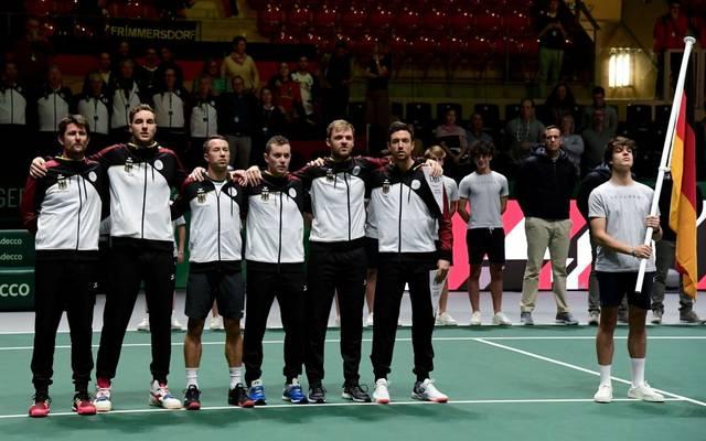 Das deutsche Davis-Cup-Team will auch 2020 in Madrid aufschlagen