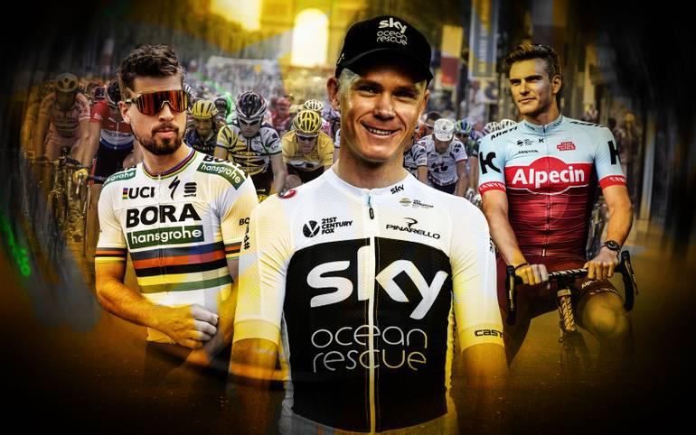 Am Samstag startet die Tour de France 2018. Der Kampf um das Gelbe, Grüne und gepunktete Trikot beginnt. Wer holt sich den Gesamtsieg, wer wird der beste Sprinter und wer kommt am besten durch die Berge? SPORT1 stellt die Favoriten auf die jeweiligen Trikots vor